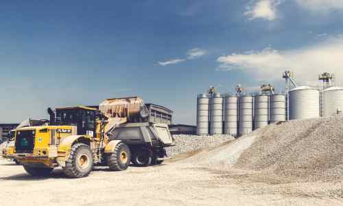Doprava betonových a suchých směsí